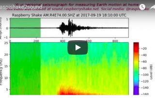 New web tool: sound.raspberryshake.net