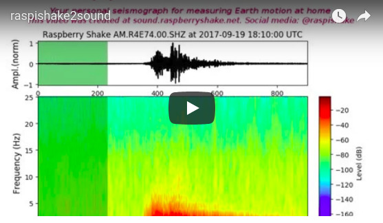 New web tool: sound.raspberryshake.net