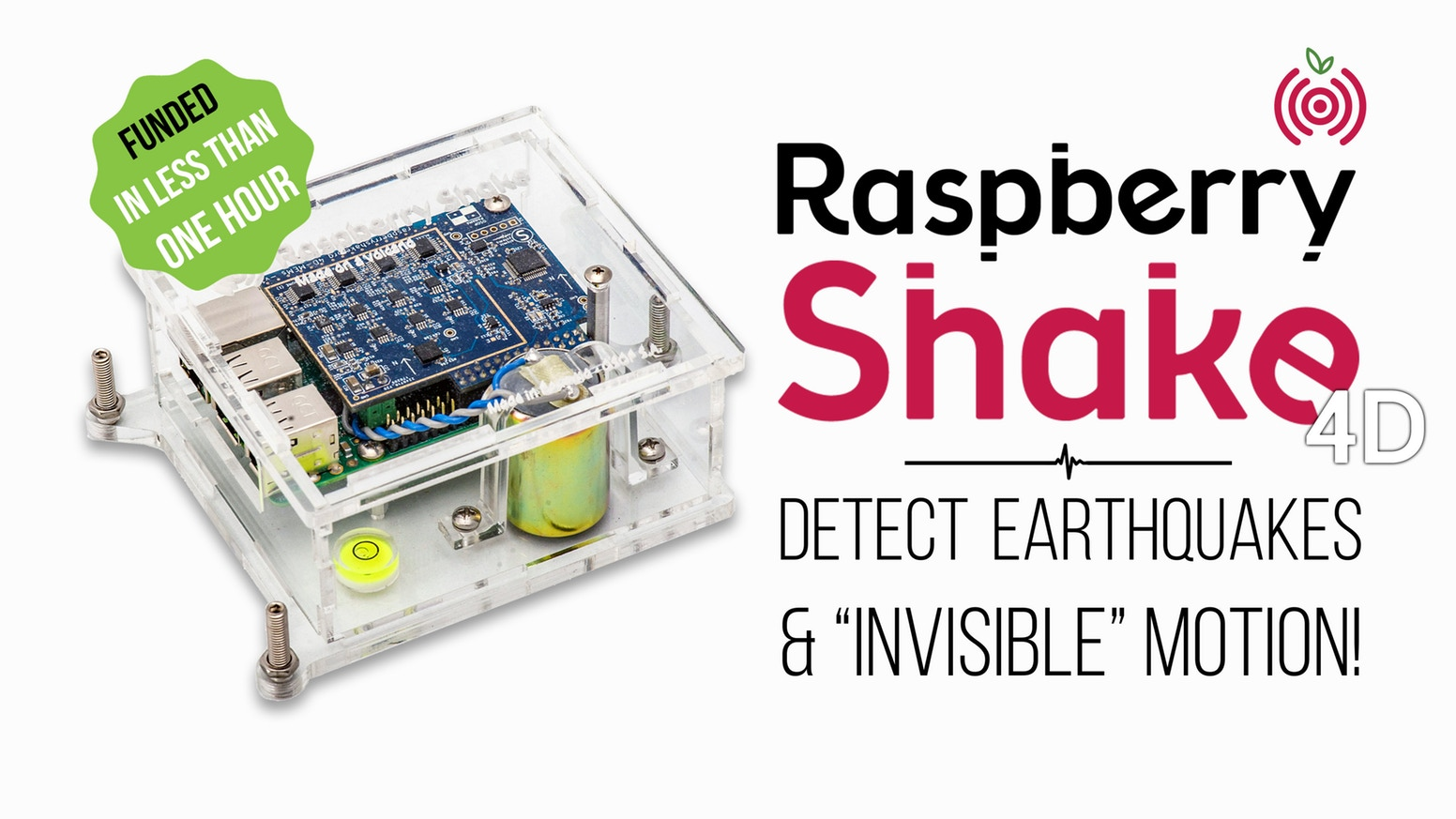 Raspberry Shake 4D Campaign