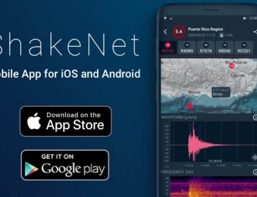 The ShakeNet Mobile App for Apple and Android