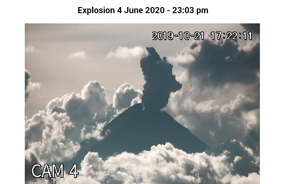 Alpha-Puebla Camera Monitoring Popocatépetl