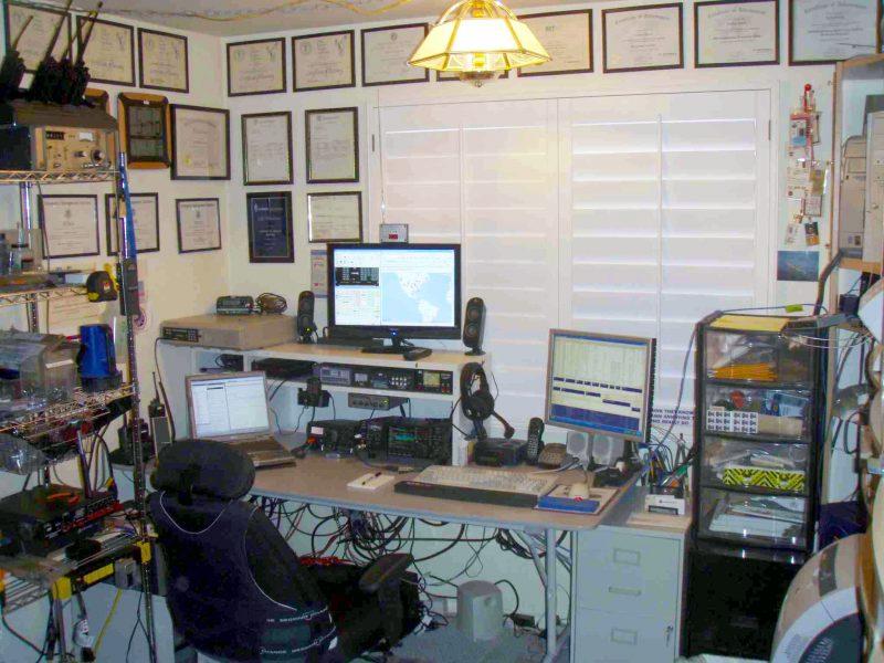 Amateur radio setup